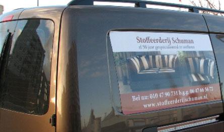 Stoel stofferen Rotterdam Stoffeerderij Schuman
